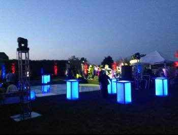 pool lighting for event production
