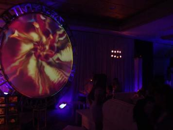 Circular-Truss-Projection-Lighting