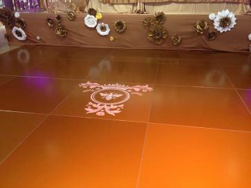 Gold-Custom-Colored-Dance-Floor