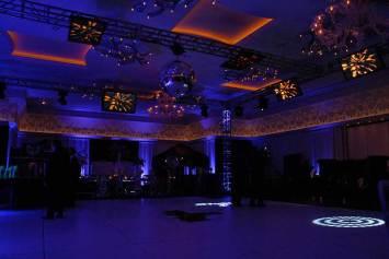 custom lighting event decor