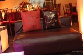 Customized event pillows