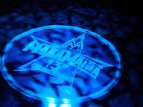 Corporate-logo-in-lights-on-dance-floor