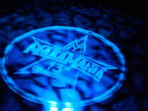 Corporate-logo-in-lights-on-dance-floor