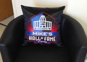 sports personalized pillows