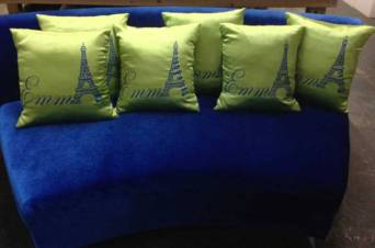 personalized event pillows