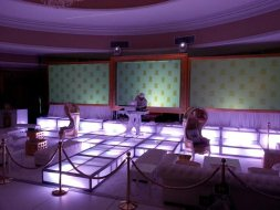Stanchions-on-LED-stage-deck-runways