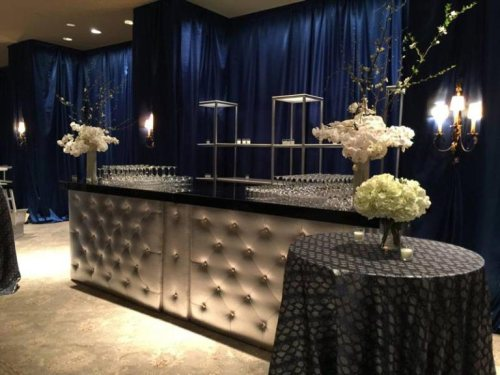 silver-tufted-bar-at-elegant-event