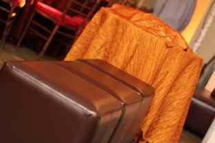 Amber-brown-ottomans-for-event-lounge-decor