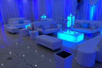 Mitzvah-with-white-lounge-decor-illuminated-furniture-blue-lighting-customized-pillows