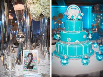 mitzvah-for-gabby-table-cards-with-silver-and-crystal-centerpieces