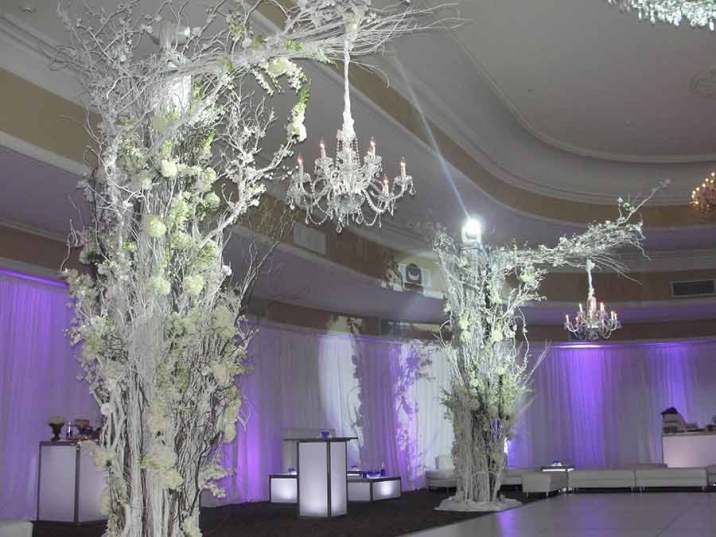 Winter Wedding Event Production at Oheka Castle