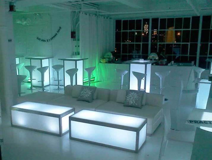Corporate-Event-Production-Illuminated-Furniture-Custom-Pillows-Hi-Boys-and-Scoop-Stools