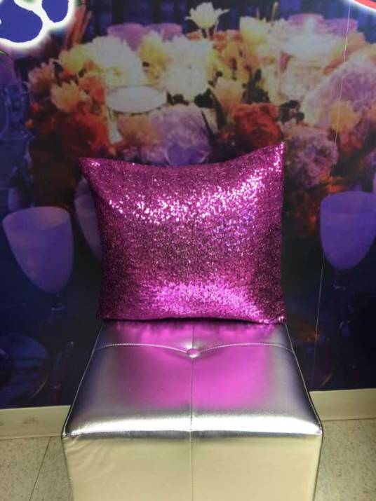 Event-furniture-sparkly-pillow-pink