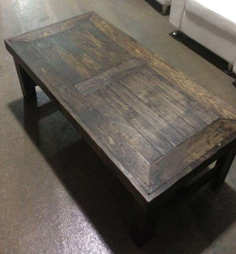 Rustic-wooden-coffee-table