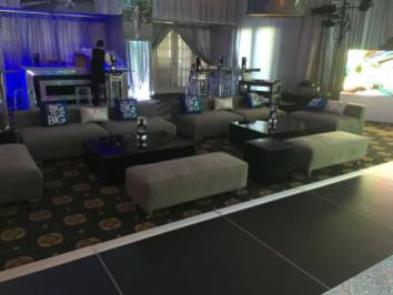 Custom-lounge-furniture-with-black-acrylic-tables