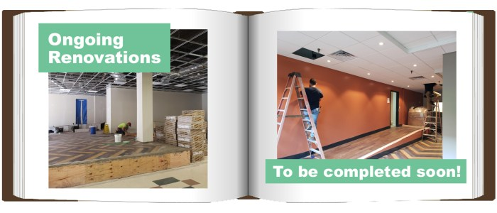 Towers East Ongoing Renovations Before & After