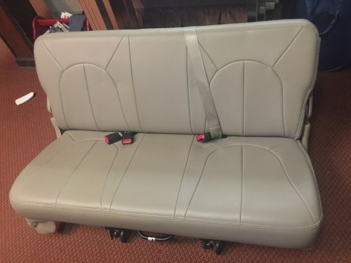 small resolution of 3rd row seat from 2000 ford expedition
