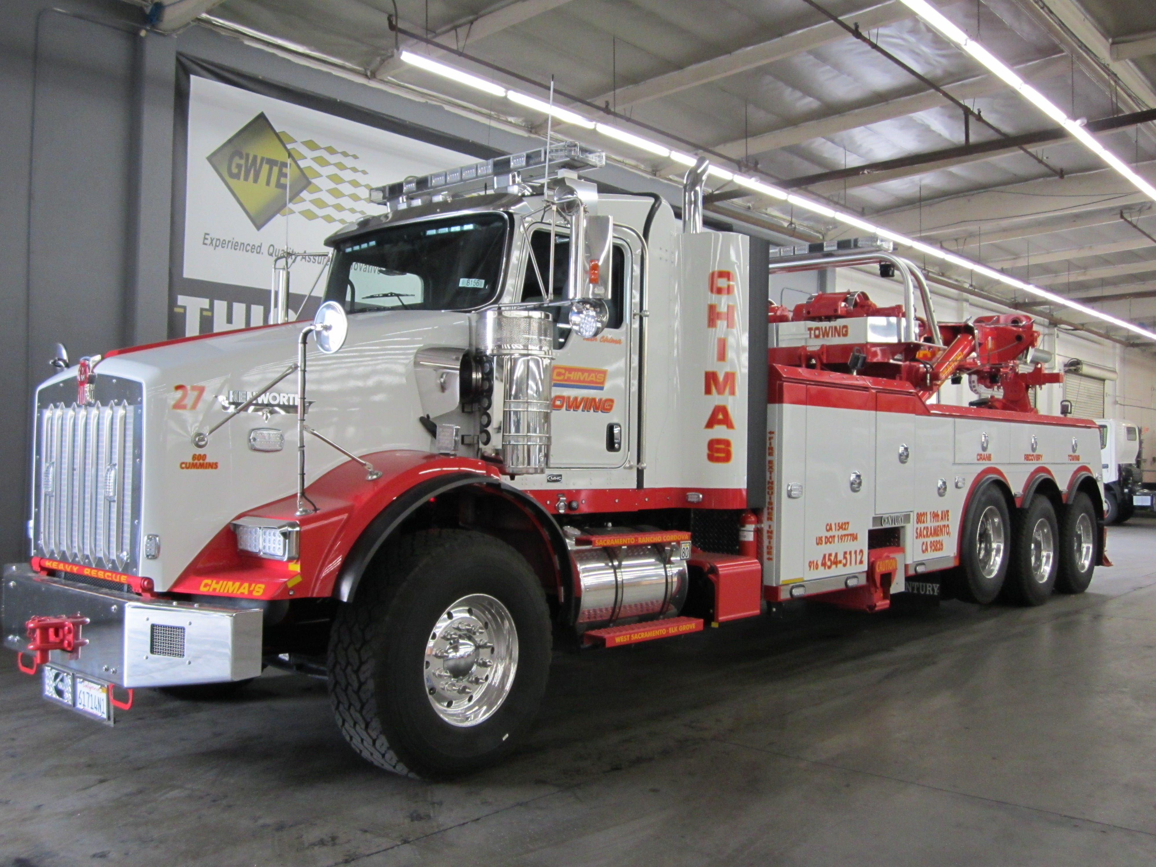 Chimas Heavy Duty Tow Truck