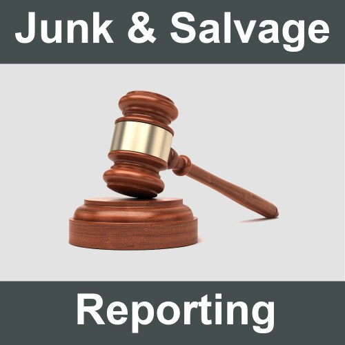Junk and Salvage Vehicle Reporting
