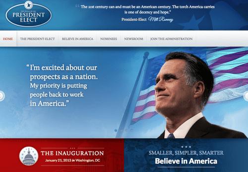 RomneyTransition