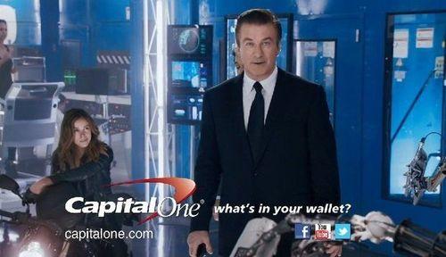 Alec Baldwin Capital One