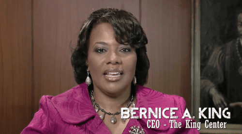 Real bernice king