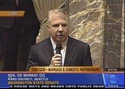 Ed Murray Senate Floor