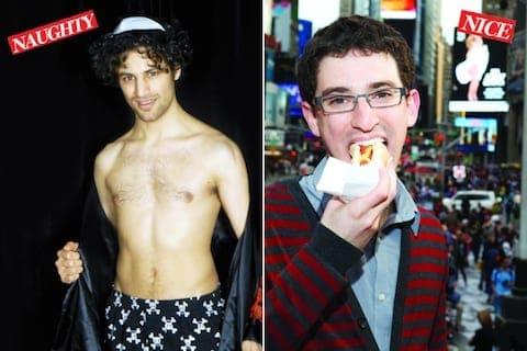 Naughty and Nice Jewish Pinup