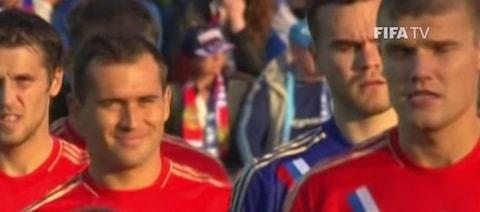 Russian soccer team