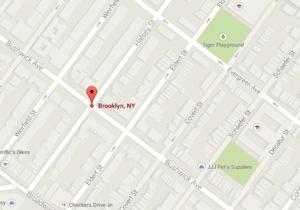 Bushwick and halsey new york map