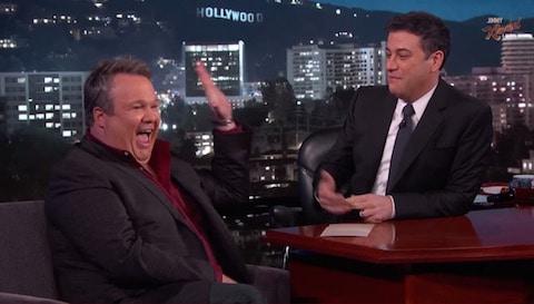 Eric Stonestreet and Jimmy Kimmel