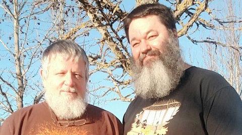 CJ Phillips and Charlie Rainwater