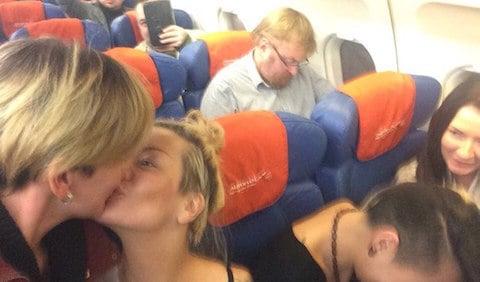 Milonov kiss protest