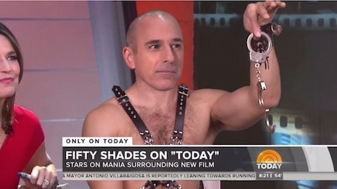 Matt Lauer Fifty Shades of Grey