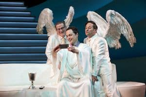AOG - Jim Parsons, Tim Kazurinsky, Christopher Fitzgerald Selfie