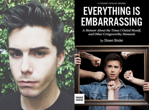 Shawn Binder Everything is Embarrassing book