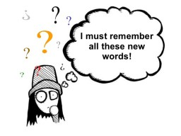 When Learning New Words: Multiple Choice Grammar Test