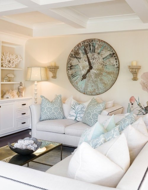 big wall clocks for living room ceilings crazy town country