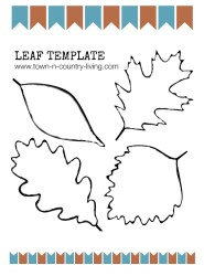 leaf fall template printable wreath diy leaves autumn crafts pdf patterns town country living templates printables pattern stencils cut leafs