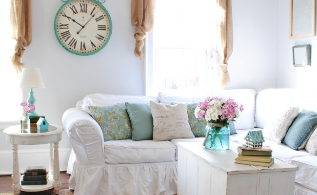 Farmhouse Style Spring Decor Town Country Living