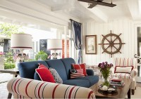 Decorating with Red, White, and Blue - Town & Country Living