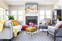 Living Rooms with Beautiful Style - Town & Country Living