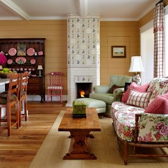 Country Pictures For Living Room Images Of Contemporary Designs Colorful Farmhouse Charming Home Tour Town English Style In Pink And Green