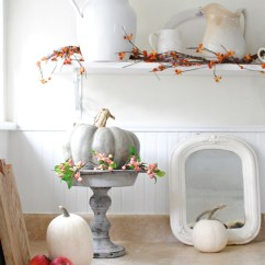 Fall Kitchen Decor Counter Height Stools Simple Decorating In The Town Country Living