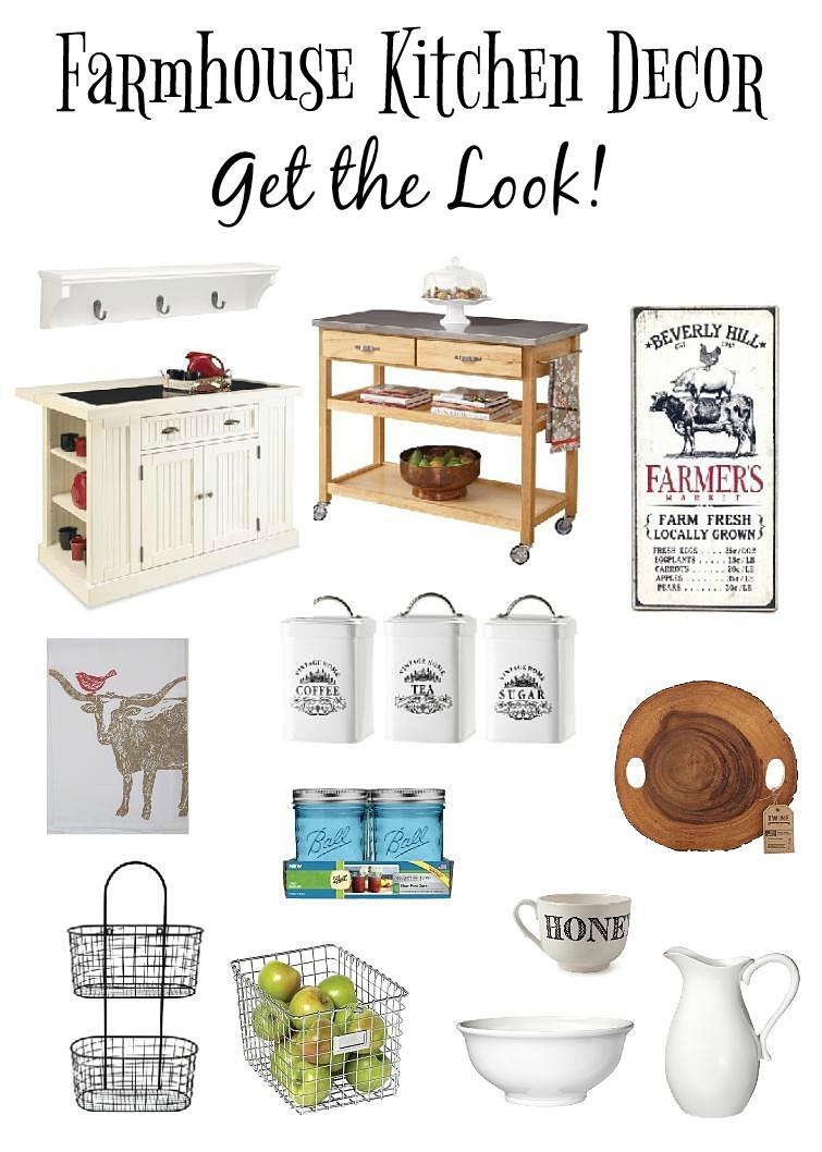 Farmhouse Kitchen Decor: Get the Look