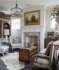 Dining Room Makeover to Sitting Room - Town & Country Living