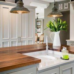 Kitchen Pendant Lights Reclaimed Wood Shelves Lighting Ideas And Options Town Country Living Rustic In A Farmhouse