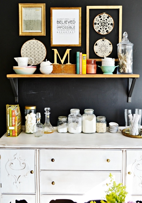 Open Shelving Ideas How To Style Town Amp Country Living