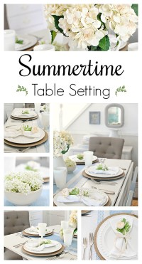 Summer Table Setting for Entertaining - Town & Country Living
