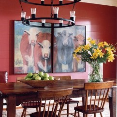 Country Decorating Ideas For Living Rooms Light Furniture Room Cow Decor: Get The Farmhouse Look - Town &